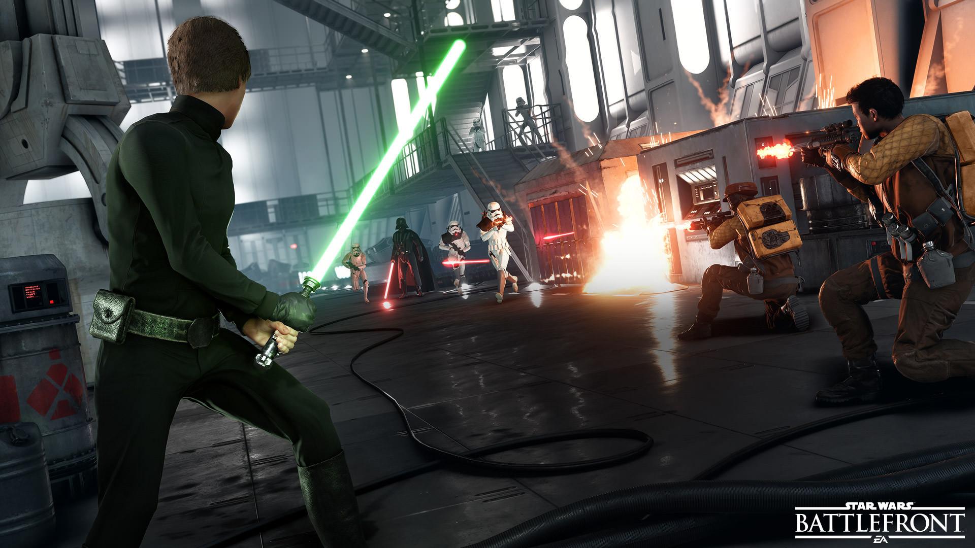 Missions Solo Et Co Op Star Wars Battlefront Star Wars