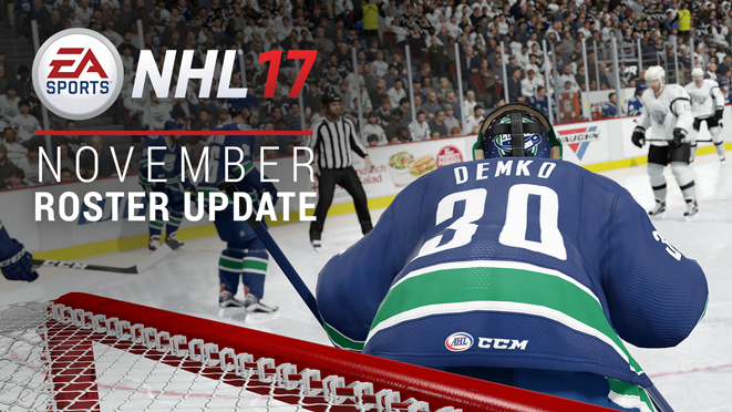 Nhl 17 Kader Update November
