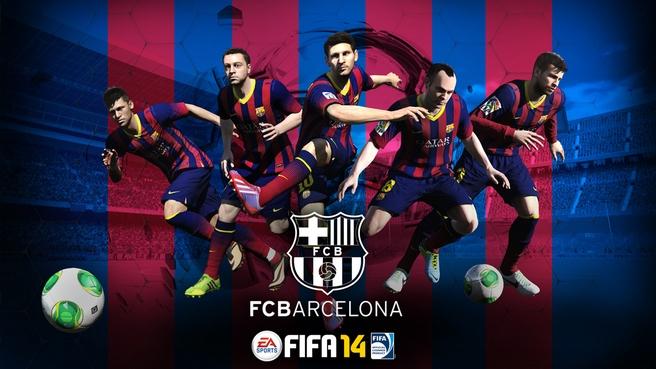 Fifa wallpapers impremedia fc barcelona fifa 14 wallpaper voltagebd Image collections