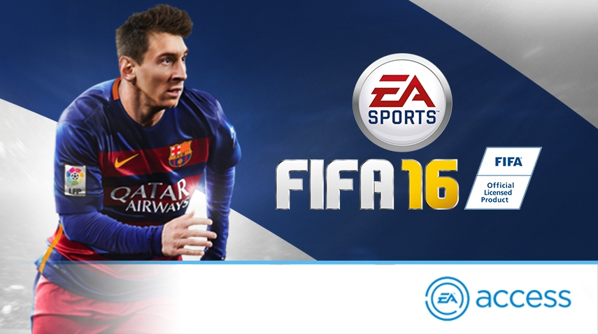 Play FIFA 16 On EA Access
