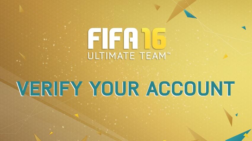FIFA 16 Ultimate Team™ - Login Verification
