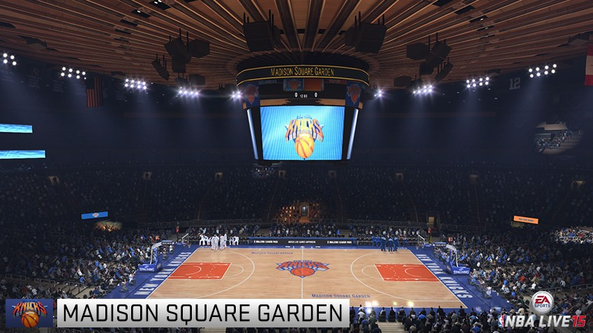 Arenas In Nba Live 15