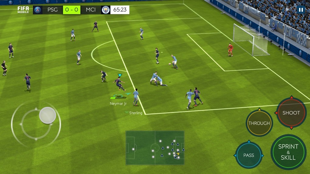 FIFA MOBILE 2018 - геймплей
