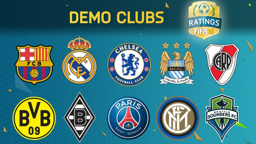 fifa 16 player ratings demo clubs