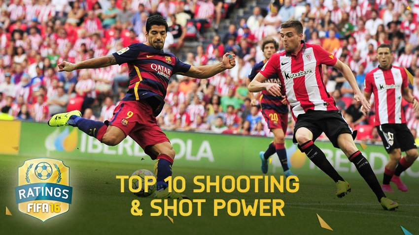 Top 10 Shooting & Shot Power