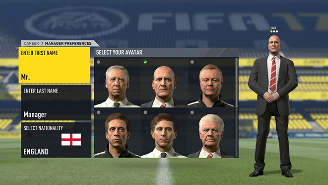 fifa 17 manager changes and updates