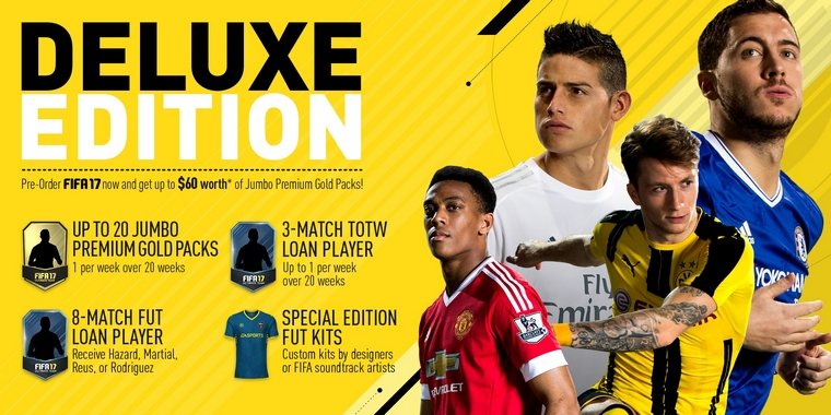 Fifa 17 pre order offers available now