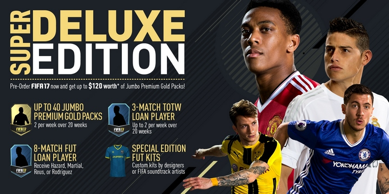 Image result for FIFA 17 Super Deluxe Edition