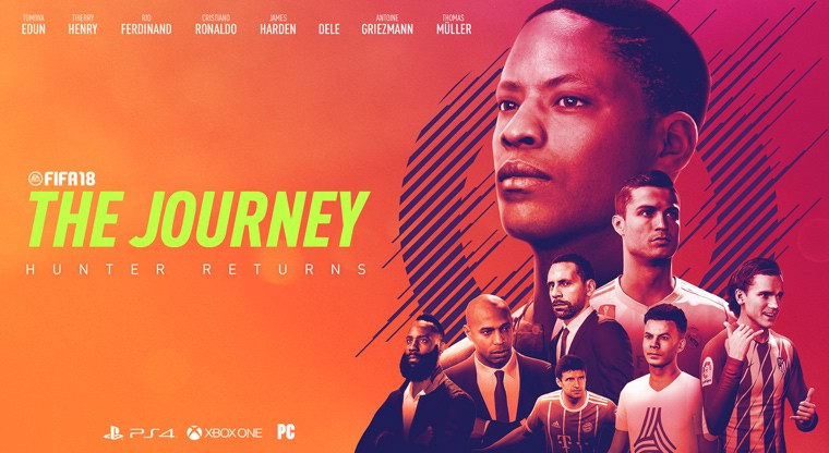 Meet The Cast Of Fifa 18s The Journey Hunter Returns