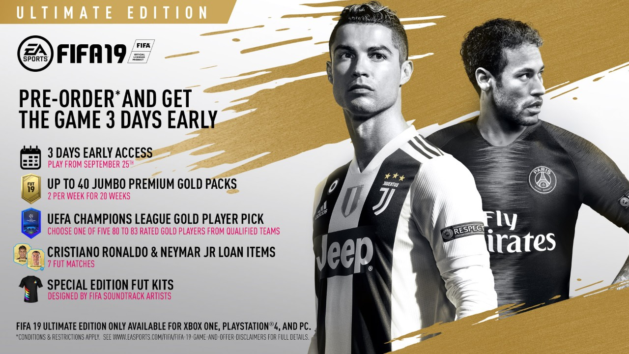 Image result for FIFA 19 Ultimate Edition PC