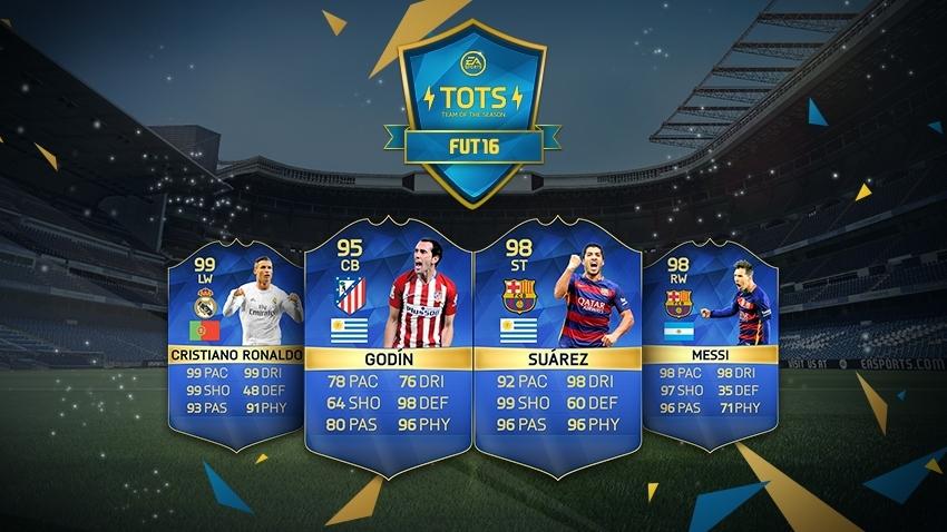 Team of the Season – La Liga – FIFA 16