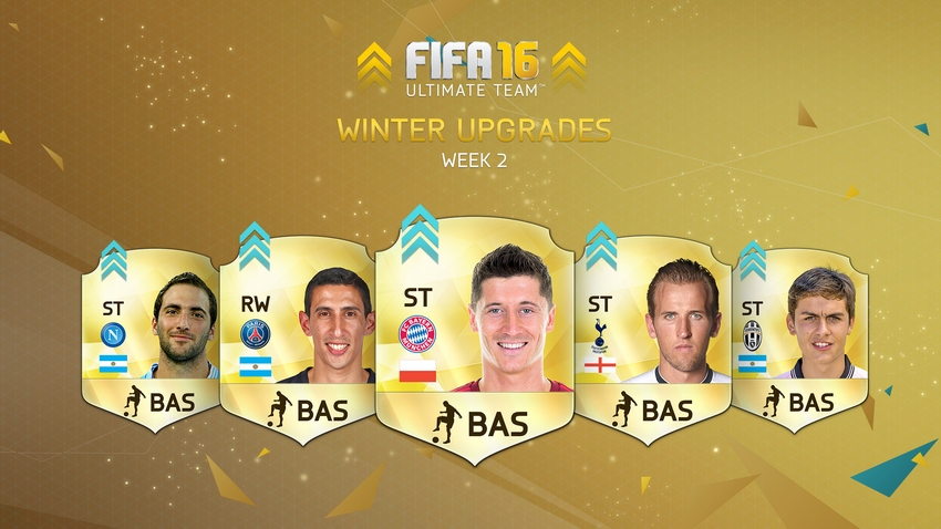 FUT 16 Winter Upgrades