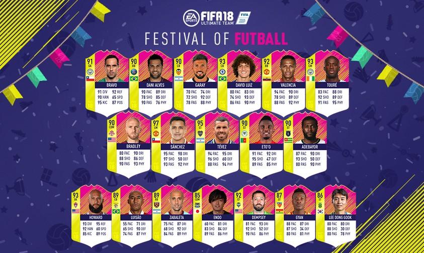 festival futball classic rest world heroes