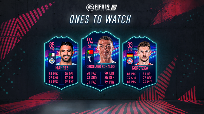 Fifa 19 Ultimate Team Ones To Watch Faq