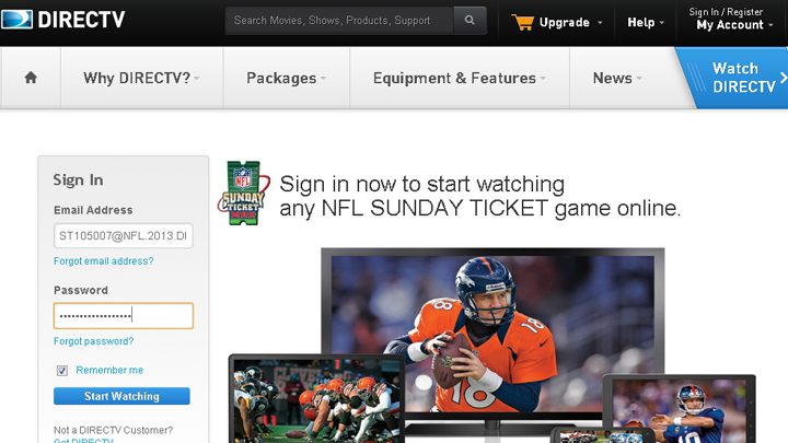 How To Activate Your Anniversary Edition Sunday Ticket