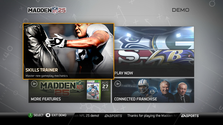 Madden NFL 25 Demo Now Available