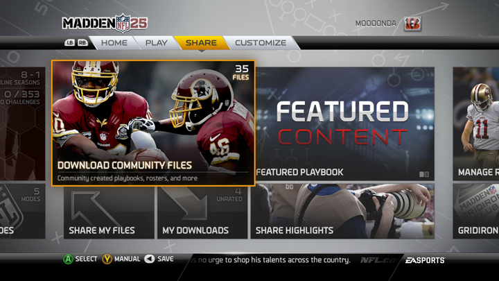 Top 5 Madden Share Tips