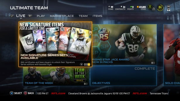 Madden Ultimate Team: What are Coins and Points?