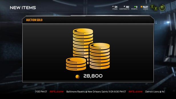 nfl 17 coins is very important in the game