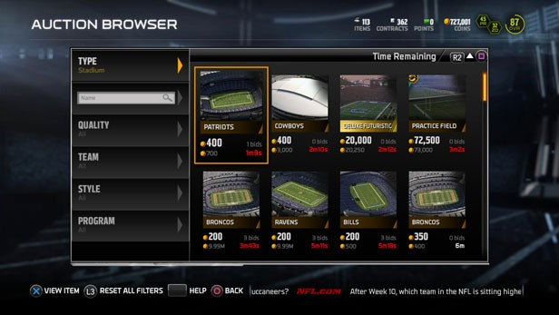 Madden 15 how to create a team