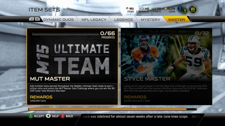 Become a MUT Master