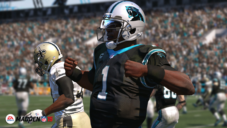 Madden NFL 15 improves presentation with all-new broadcast-style presentation, authentic NFL jumbotrons, Player Spotlight Montages, as well as new pregame and halftime shows from Orlando