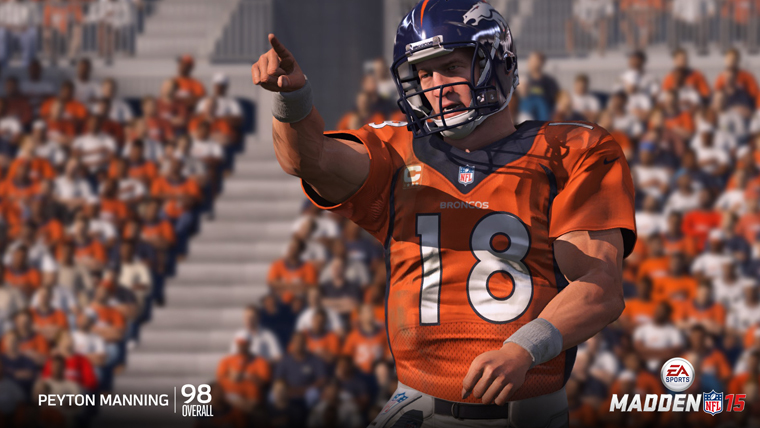 Top QB Ratings in Madden NFL 15