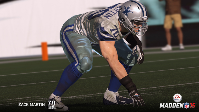 Player Ratings Madden 15