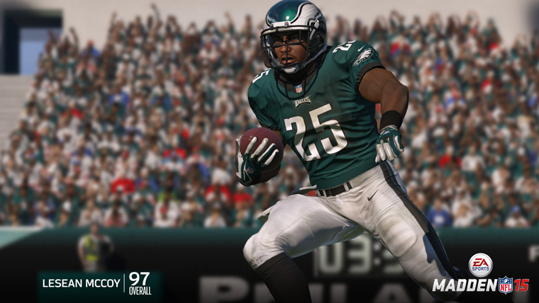 Top RB Ratings in Madden NFL 15
