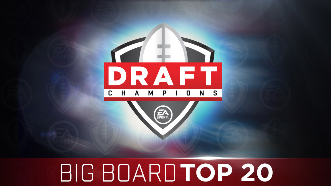 Draft Champions Big Board Top 20 Players