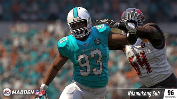 Top DT Player Ratings in Madden NFL 16