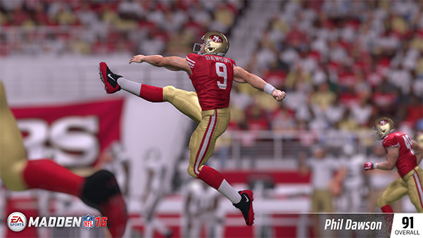 Top K Player Ratings in Madden NFL 16