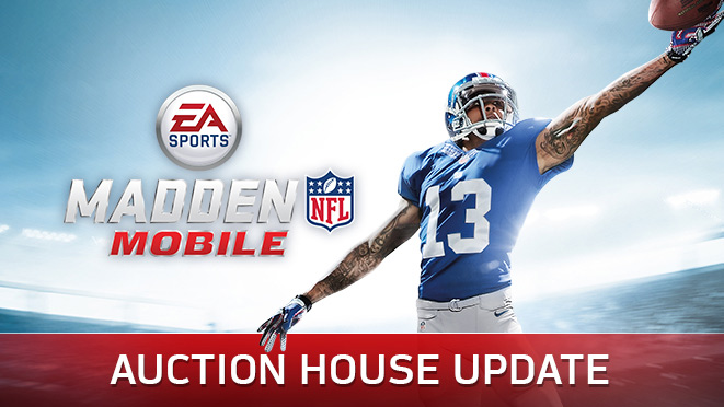 Auction House and Madden Mobile Update - Madden NFL Mobile ...