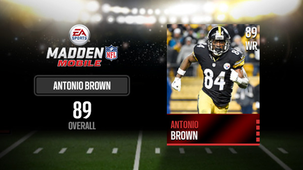 antonio brown jersey madden mobile