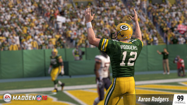 AARON RODGERS (99 OVR) GREEN BAY PACKERS