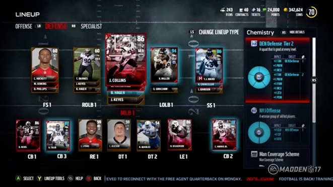 Magnificent Madden Ultimate Team 17 Chemistry Largest Home Design Picture Inspirations Pitcheantrous