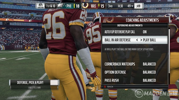 Madden Mechanics: Coaching Adjustments