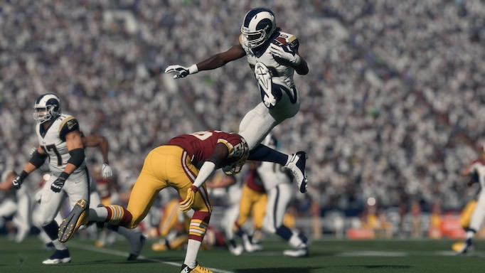 How to Hurdle Like Todd Gurley in Madden 18