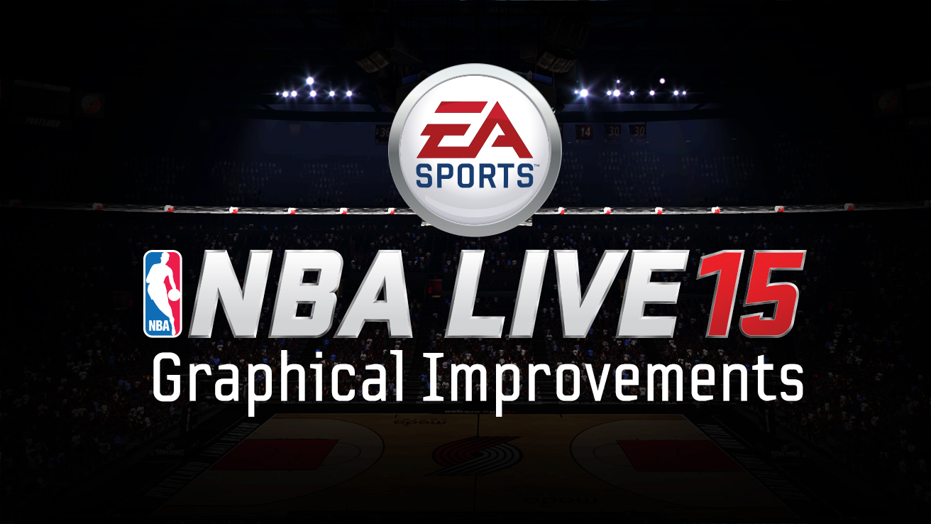 visuals in nba live 15. Black Bedroom Furniture Sets. Home Design Ideas