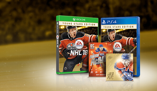 Nhl 18 Pre Order Offers Young Stars Deluxe Young Stars And