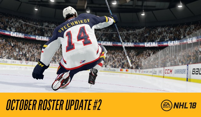 Nhl 18 Roster Update 2