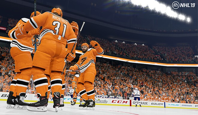 Ea Sports Hockey League In Nhl 19