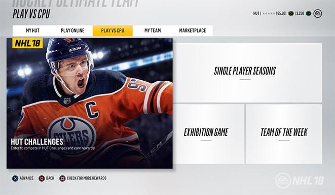 Hockey Ultimate Team™ Game Modes - NHL® 18 3e96e3554