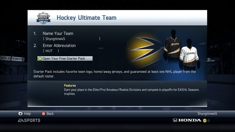 NHL 14 Ultimate Team - Getting Started