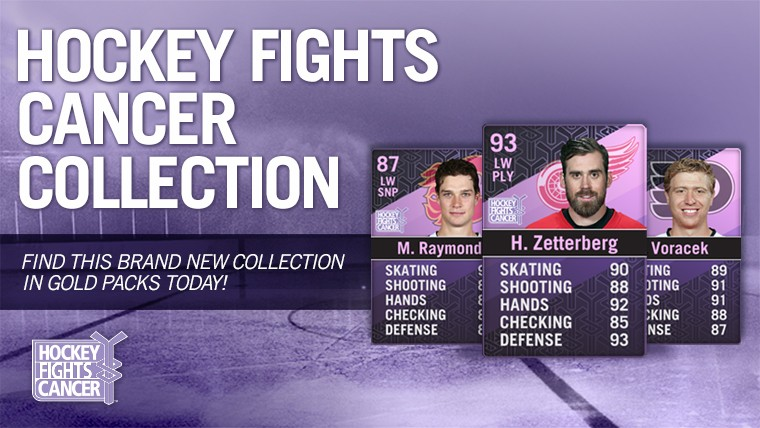 EA SPORTS NHL 15 is partnering up with the NHL and the NHLPA with the  common goal of driving awareness to the Hockey Fights Cancer initiative. 0e3e773ef