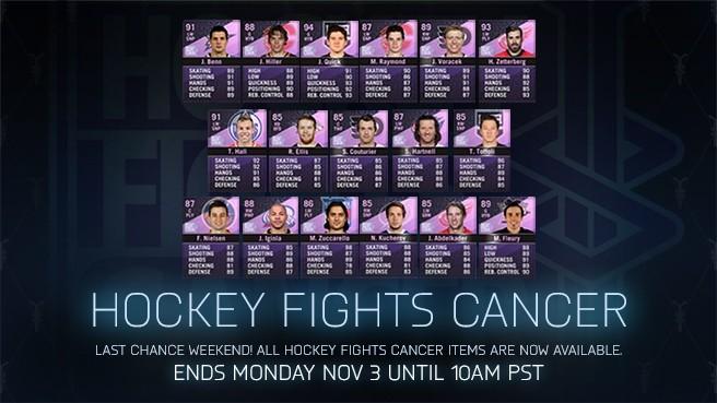 Hockey Ultimate Team - Hockey Fights Cancer e2d3a8e70