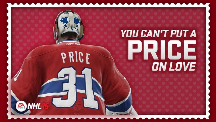 NHL 15 Valentines Day Cards – Sports Valentines Cards