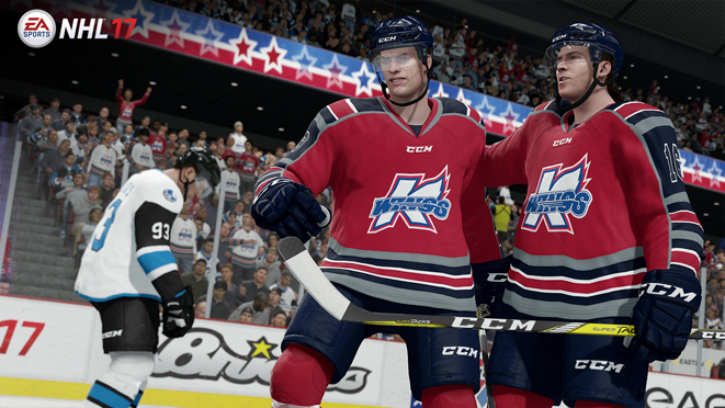 The Echl Makes Its Debut In Nhl 17 Featuring All 27 Authentic Teams Jerseys And Rosters Play As These Now Or Season Mode Unlock