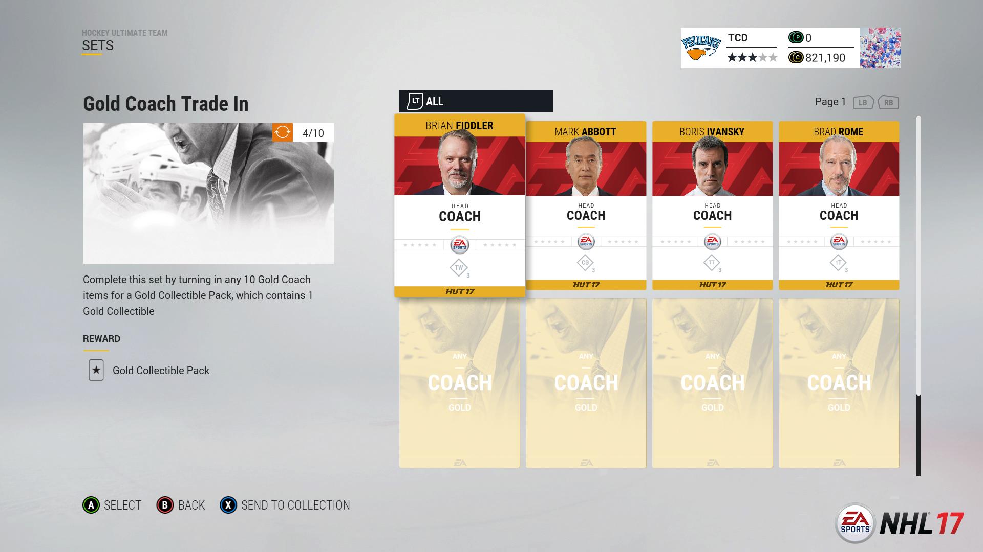 nhl 17 - image 1 - NHL 17 – Hockey Ultimate Team Synergy Trailer