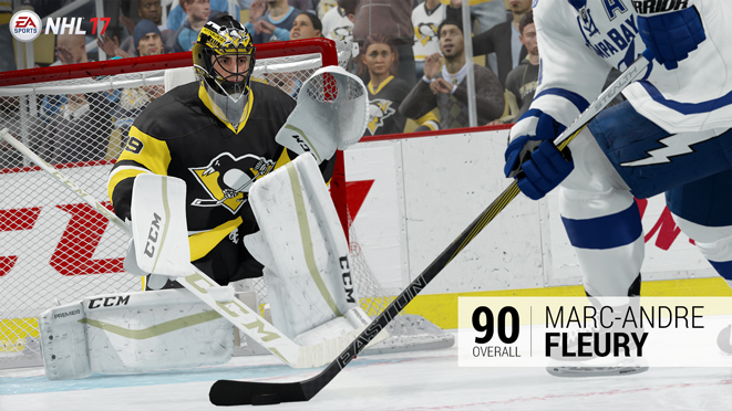 NHL 17 Ratings - Top 10 Goalies ac1cc6dae